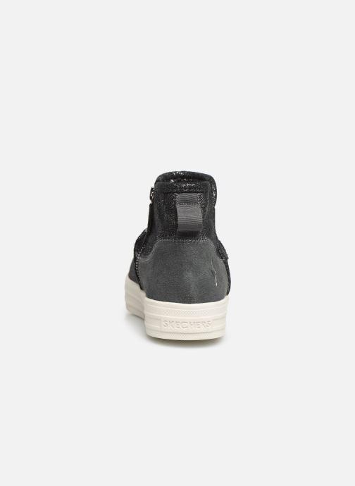 Boots en enkellaarsjes Skechers Double Up/Warm Shine Grijs rechts