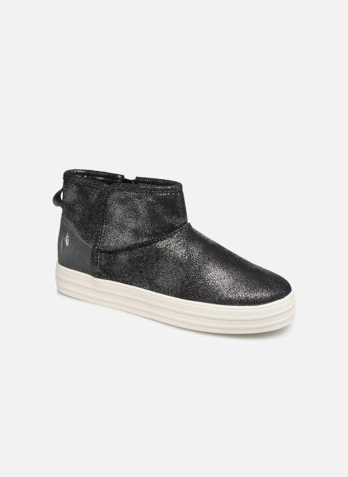 Boots en enkellaarsjes Skechers Double Up/Warm Shine Grijs detail