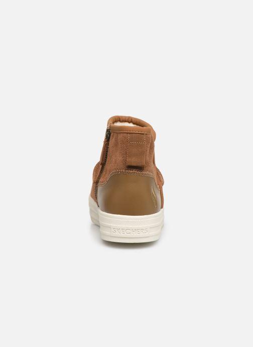 Boots en enkellaarsjes Skechers Double Up/Shorty Bruin rechts