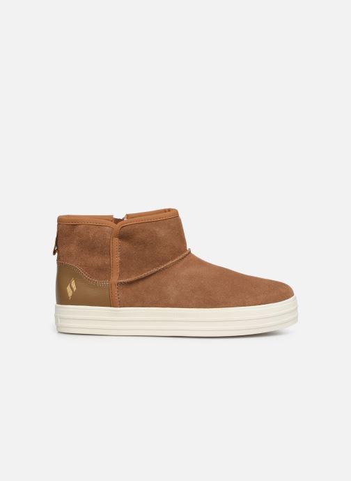 Boots en enkellaarsjes Skechers Double Up/Shorty Bruin achterkant