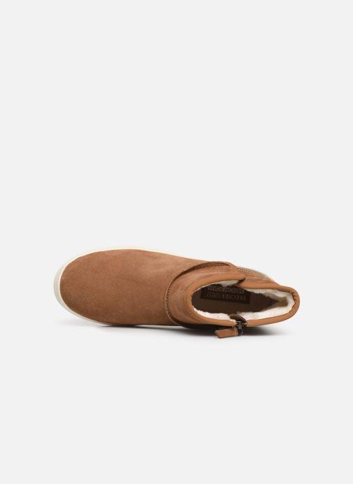 Bottines et boots Skechers Double Up/Shorty Marron vue gauche