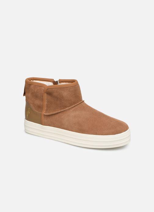Bottines et boots Skechers Double Up/Shorty Marron vue détail/paire