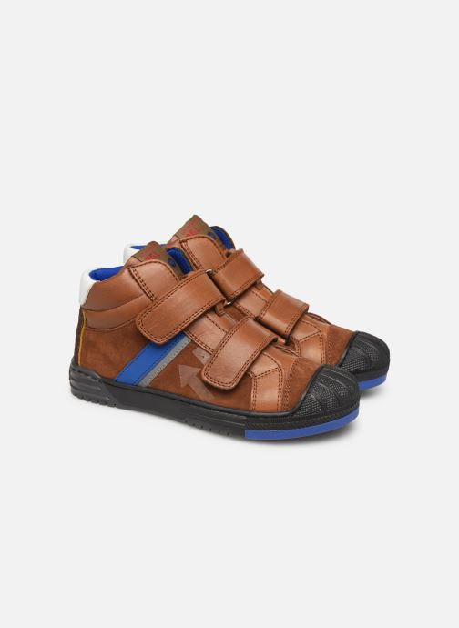 Trainers Romagnoli 4518-238 Brown 3/4 view