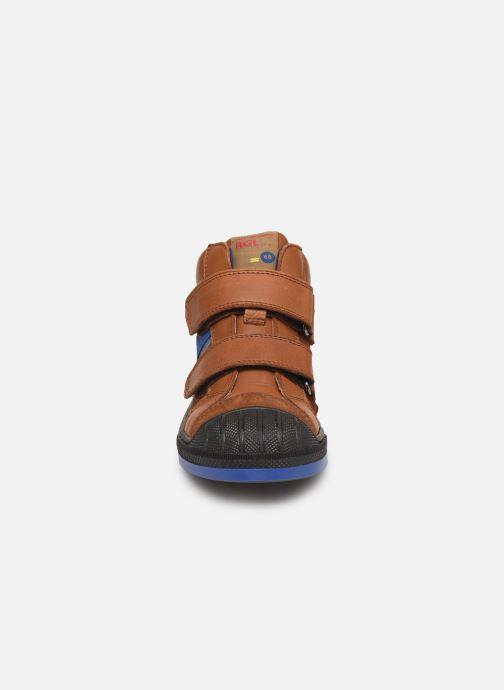 Baskets Romagnoli 4518-238 Marron vue portées chaussures