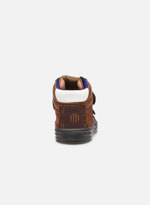 Baskets Romagnoli 4518-238 Marron vue droite