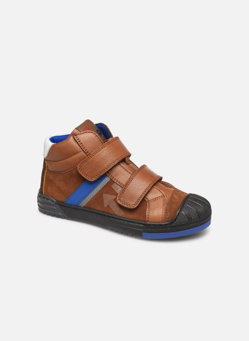 Trainers Romagnoli 4518-238 Brown detailed view/ Pair view