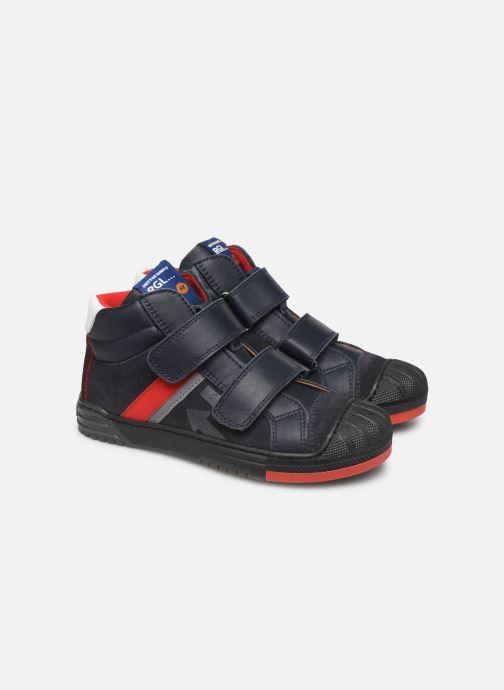 Sneakers Romagnoli 4518-202 Blå 3/4 bild