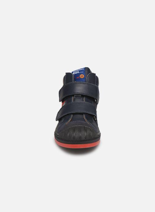 Sneakers Romagnoli 4518-202 Blå bild av skorna på
