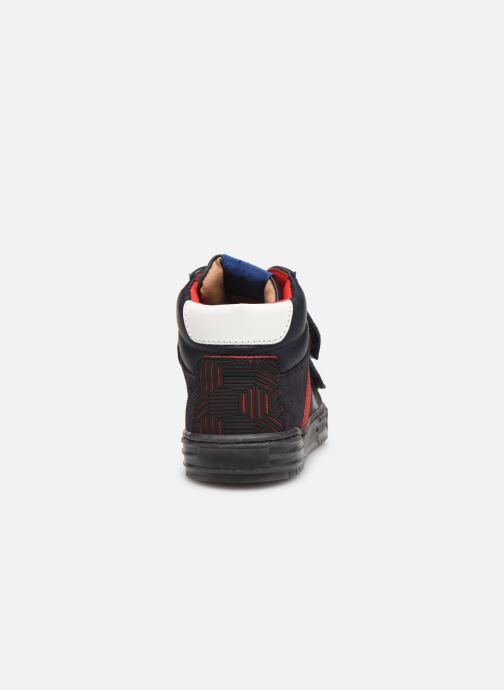 Baskets Romagnoli 4518-202 Bleu vue droite
