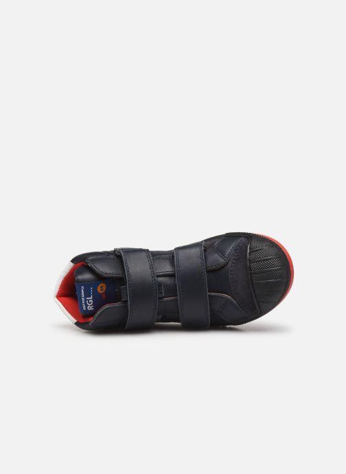 Sneakers Romagnoli 4518-202 Blå bild från vänster sidan