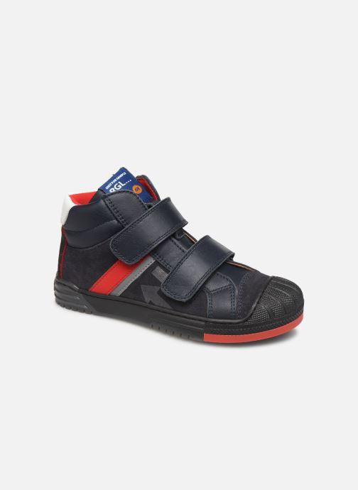 Sneakers Romagnoli 4518-202 Blå detaljerad bild på paret