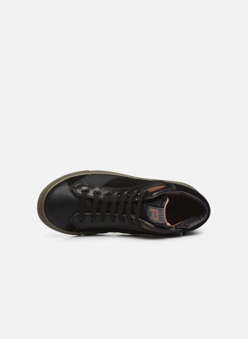 Baskets Romagnoli 4525-201 Noir vue gauche
