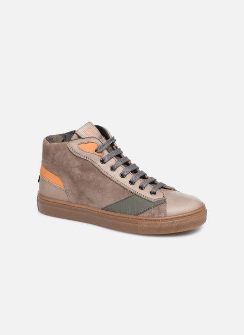 Sneakers Romagnoli 4525-211 Brun detaljeret billede af skoene