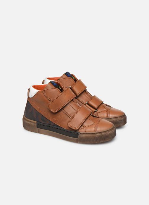 Baskets Romagnoli 4765-838 Marron vue 3/4