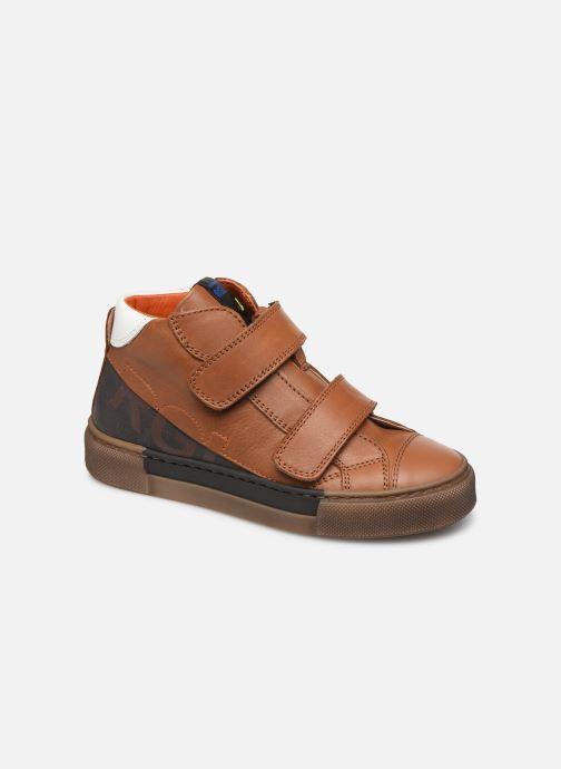 Sneakers Romagnoli 4765-838 Brun detaljeret billede af skoene