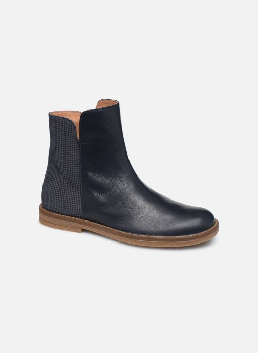 Ankle boots Romagnoli 4762-402 Blue detailed view/ Pair view