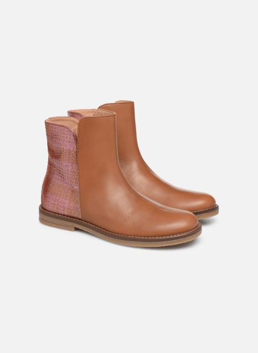 Ankle boots Romagnoli 4762-461 Brown 3/4 view