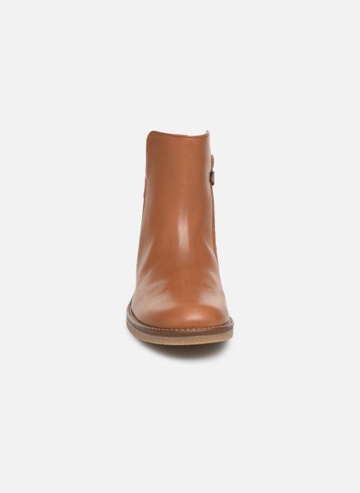 Bottines et boots Romagnoli 4762-461 Marron vue portées chaussures