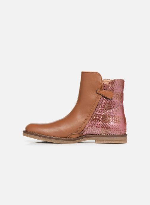 Boots en enkellaarsjes Romagnoli 4762-461 Bruin voorkant