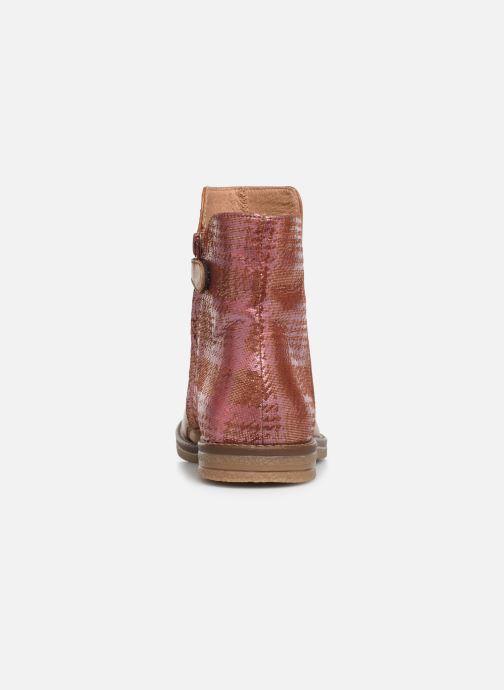 Bottines et boots Romagnoli 4762-461 Marron vue droite