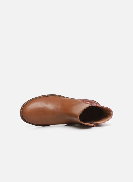 Boots en enkellaarsjes Romagnoli 4762-461 Bruin links