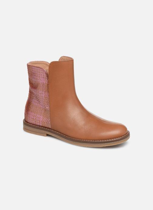 Bottines et boots Romagnoli 4762-461 Marron vue détail/paire