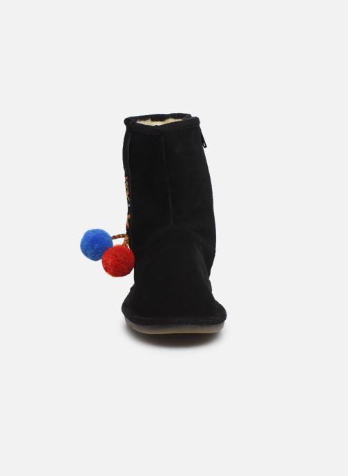 Bottes Les Tropéziennes par M Belarbi Akama Noir vue portées chaussures
