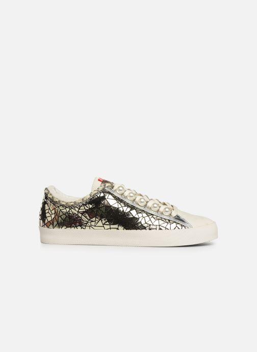 Sneakers Les Tropéziennes par M Belarbi Cork Goud en brons achterkant