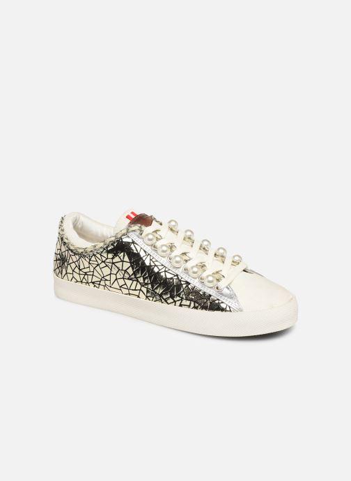 Sneakers Les Tropéziennes par M Belarbi Cork Goud en brons detail