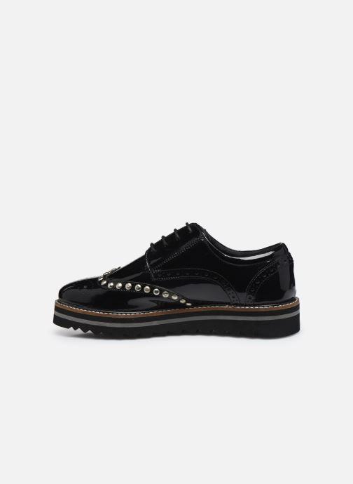 Zapatos con cordones Les Tropéziennes par M Belarbi Ida Negro vista de frente