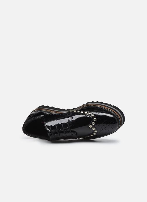 Zapatos con cordones Les Tropéziennes par M Belarbi Ida Negro vista lateral izquierda