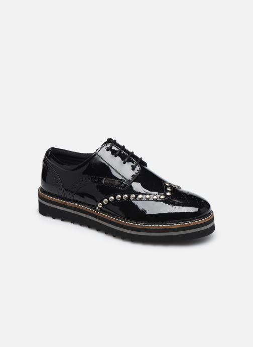 Chaussures à lacets Les Tropéziennes par M Belarbi Ida Noir vue détail/paire