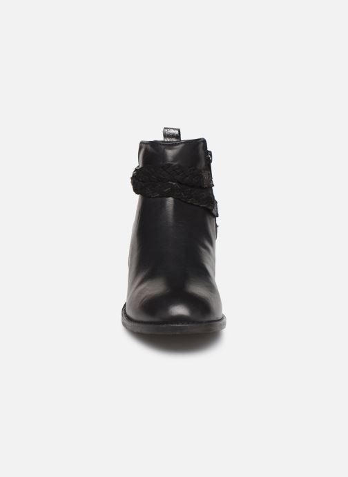 Bottines et boots Les Tropéziennes par M Belarbi Mistral Noir vue portées chaussures