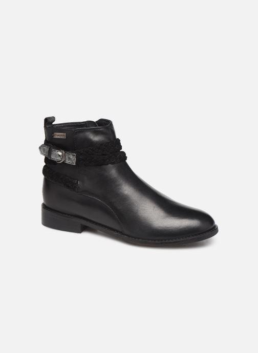 Bottines et boots Les Tropéziennes par M Belarbi Mistral Noir vue détail/paire