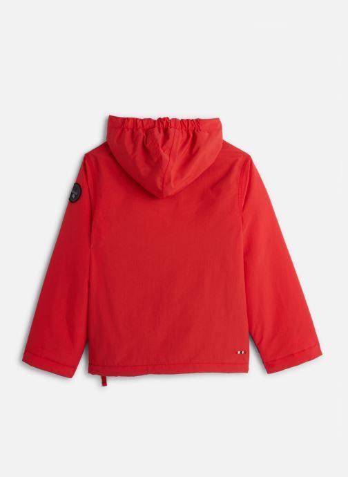 Vêtements Napapijri K RAINFOREST 1 Rouge vue bas / vue portée sac