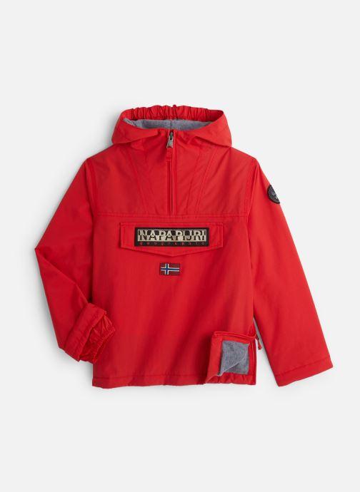 Vêtements Napapijri K RAINFOREST 1 Rouge vue détail/paire