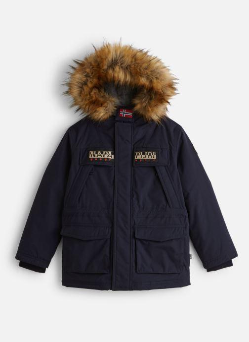 Vêtements Napapijri K SKIDOO OPEN LONG 2 Bleu vue détail/paire
