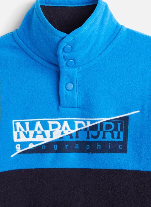 Vêtements Napapijri K TAKY HZ Bleu vue portées chaussures