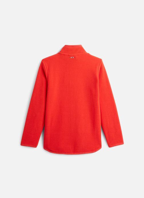 Vêtements Napapijri K TAKY FZ Rouge vue bas / vue portée sac