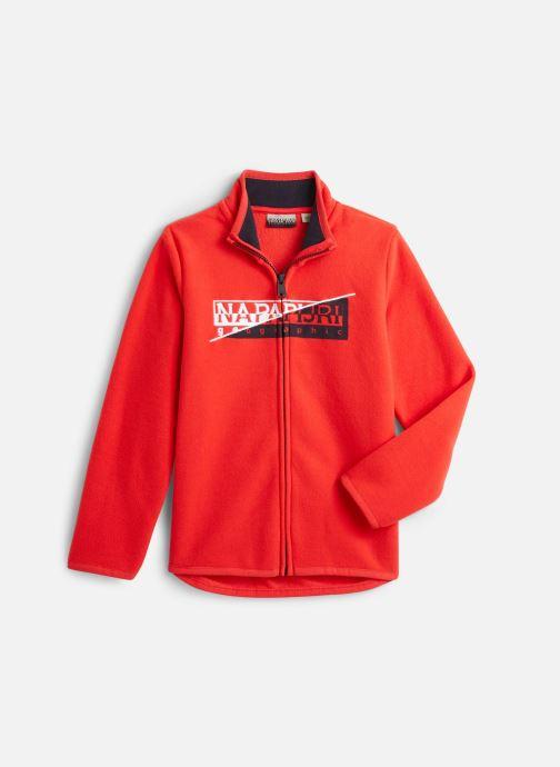 Vêtements Napapijri K TAKY FZ Rouge vue détail/paire