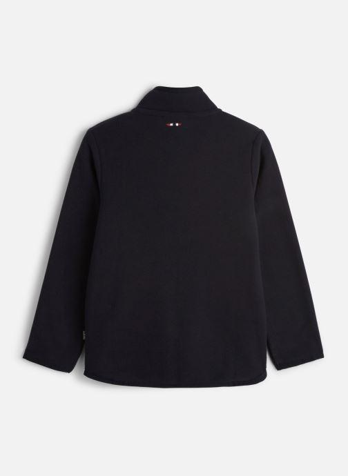 Vêtements Napapijri K TAKY FZ Bleu vue bas / vue portée sac