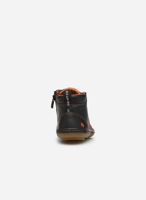 Sneakers Art Kio 4A-708 Nero immagine destra