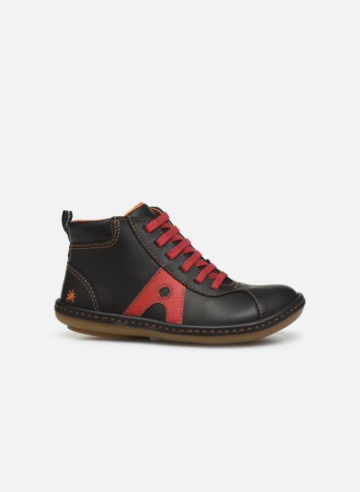Sneaker Art Kio 4A-708 schwarz ansicht von hinten