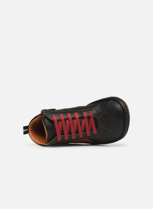 Sneaker Art Kio 4A-708 schwarz ansicht von links