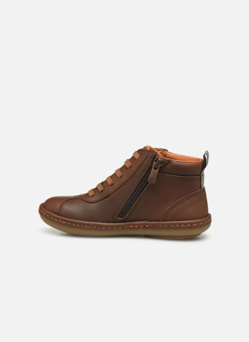 Trainers Art Kio 4A-708 Brown front view