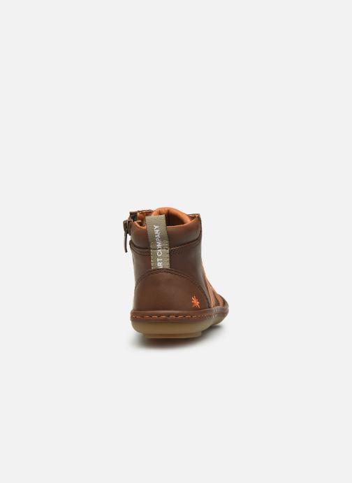 Sneakers Art Kio 4A-708 Marrone immagine destra