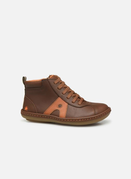 Trainers Art Kio 4A-708 Brown back view