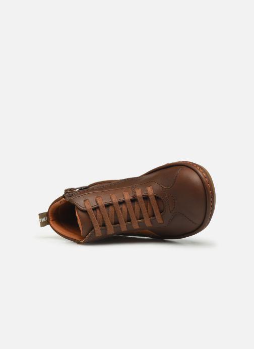 Sneakers Art Kio 4A-708 Marrone immagine sinistra