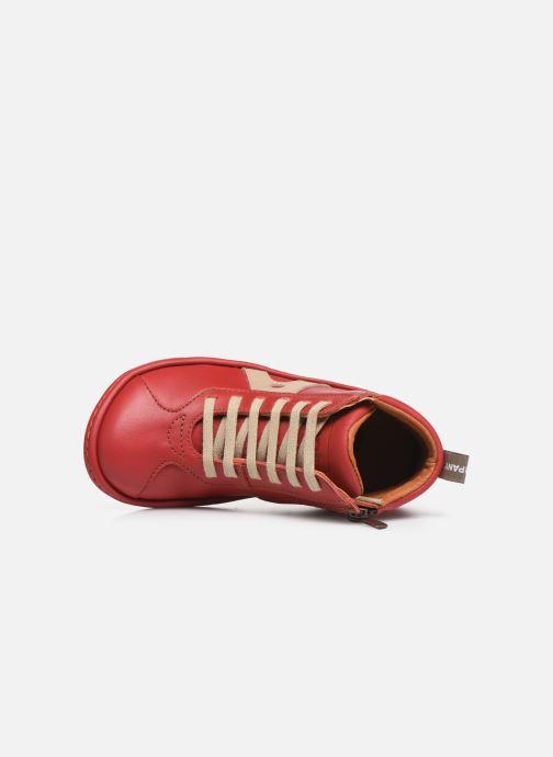 Baskets Art Kio 4A-708 Rouge vue gauche