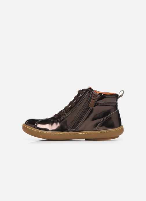 Trainers Art Kio 4A-708T Bronze and Gold front view